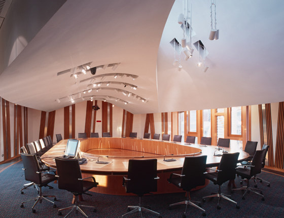 Office for Visual Interaction, Inc. (OVI)-Scottish Parliament Building