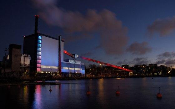 Naistenlahti Power Plant by Valoa Design | Industrial buildings