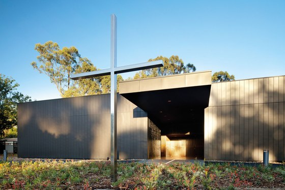 Puckapunyal Military Area Memorial Chapel de BVN | Édifices sacraux / Centres communautaires
