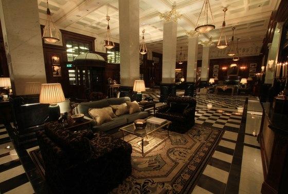 savoy hotel by lighting design international. Black Bedroom Furniture Sets. Home Design Ideas