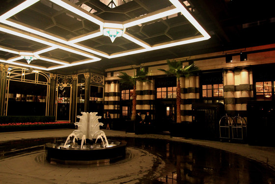 Savoy Hotel by Lighting Design International | Hotels & Hotel by Lighting Design International | Hotels