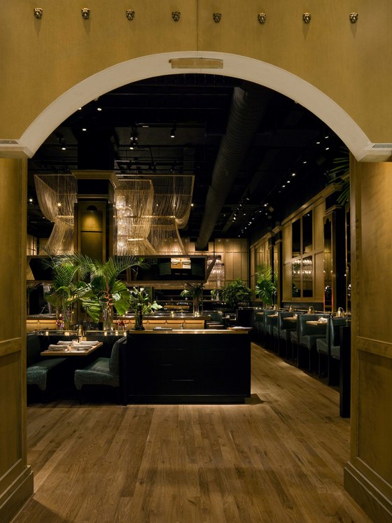 The Hurricane Club de Focus Lighting | Diseño de restaurantes