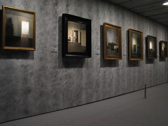 Hammershøi i Dreyer Exhibition by Maurici Ginés | Museums