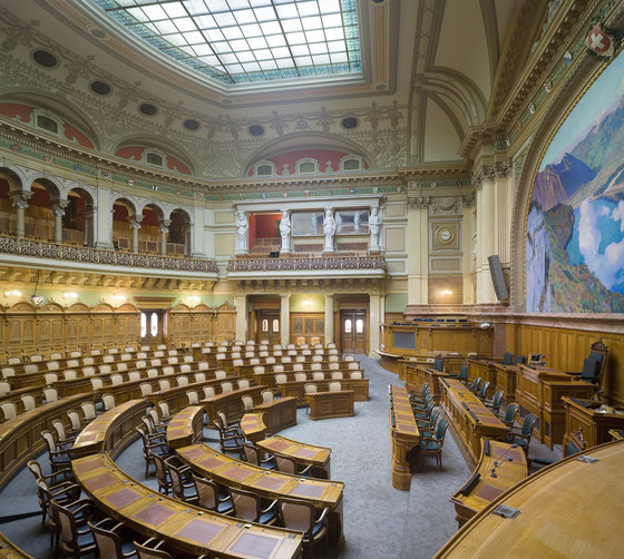 Swiss Parliament Building by Vogt & Partner | Administration buildings