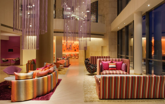 Hotel Missoni by ksld | Kevan Shaw Lighting Design | Hotel interiors
