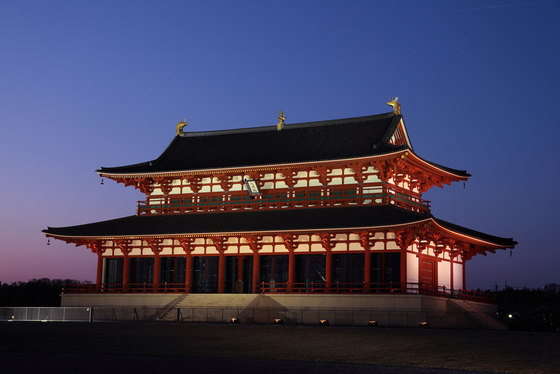 Heijo-kyo Daigoku Palace by Motoko Ishii Lighting Design | Concert halls