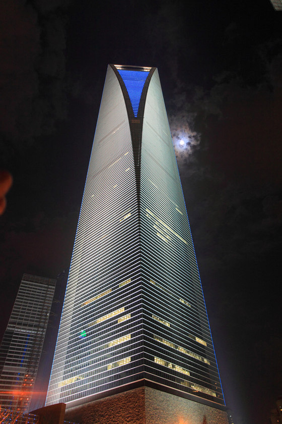 Shanghai World Financial Center by Motoko Ishii Lighting Design | Administration buildings