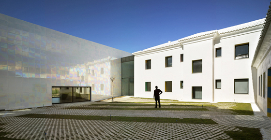 Music Hall and Auditorium in Algueña MUCA by COR + Partners | Concert halls