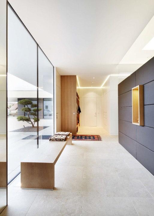 Modernes wohnhaus im bezirk grieskirchen by josko reference for Josko fenster