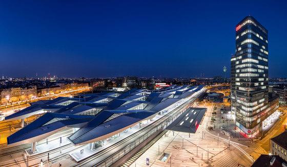 ÖBB Konzernzentrale am Wiener Hauptbahnhof von Zechner & Zechner ZT GmbH | Bürogebäude