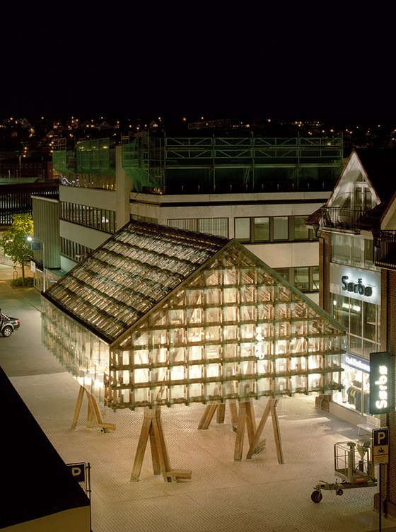 Norwegian Wood by AWP   Temporary structures