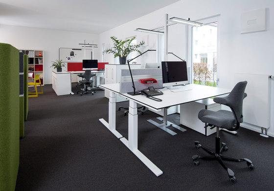 roomarts – arbeiten.leben.wohnen by WINI Büromöbel | Manufacturer references