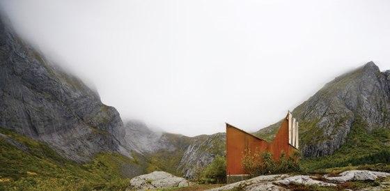 Roadside Reststop Akkarvikodden by Manthey Kula | Infrastructure buildings
