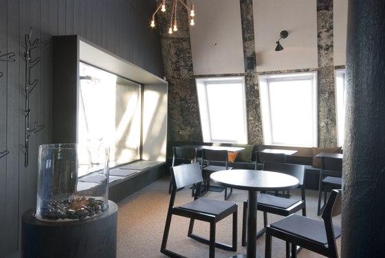 Restaurang Tusen Ramundberget de MURMAN ARKITEKTER | Restaurantes