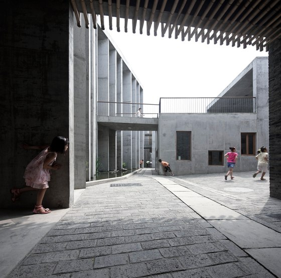 XiaoQuan Ethnic Elementary School by TAO - Trace Architecture Office | Schools