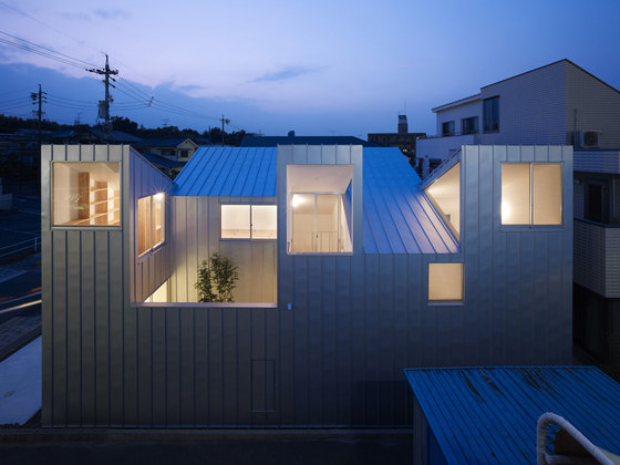 Tomohiro Hata Architect and Associates-Complex House