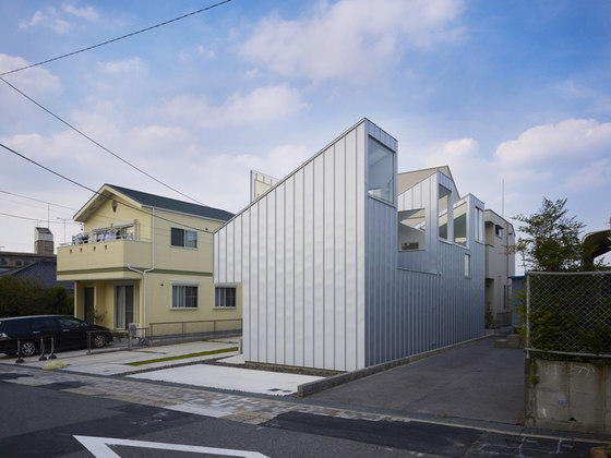 Complex House de Tomohiro Hata Architect and Associates | Maisons particulières