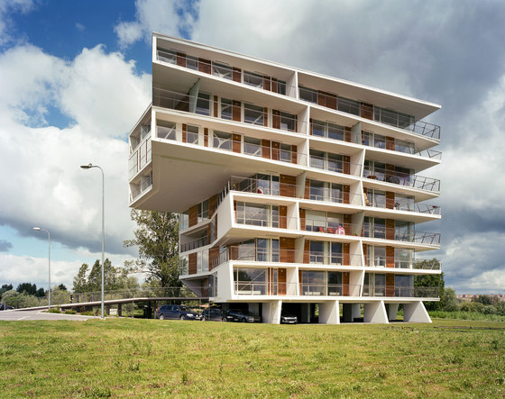 The River - Jõekaare Residential Tower by Atelier Thomas Pucher | Apartment blocks