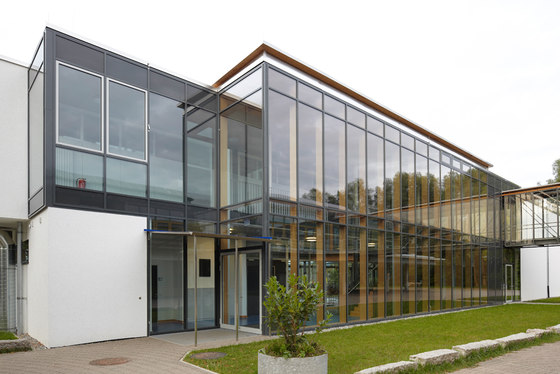 Realschule, department of planning and building inspection Radolfzell de Woodtrade reference projects | Manufacturer references