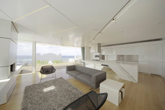 Bondi Penthouse de MPR Design Group Pty Ltd | Casas Unifamiliares