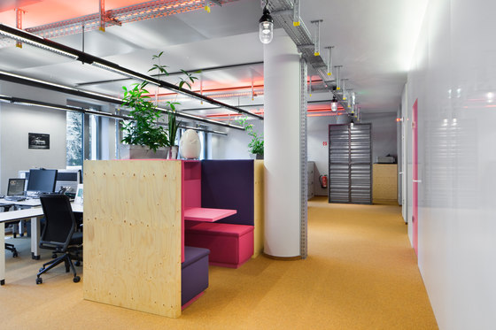 Google office d sseldorf by carpet concept manufacturer for Office design wellbeing
