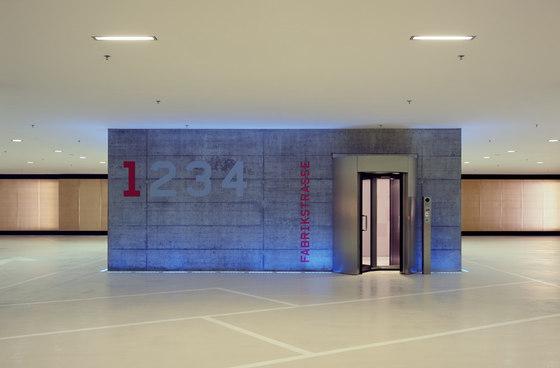 Novartis Campus Main Gate & Car Park di Marco Serra Architekt | Edifici per uffici