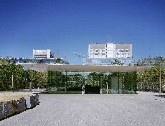 Novartis Campus Main Gate & Car Park by Marco Serra Architekt | Office buildings