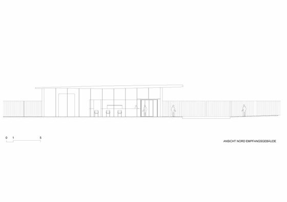 Novartis Campus Main Gate & Car Park de Marco Serra Architekt | Edificio de Oficinas
