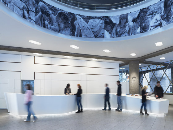 DuPont Corian reference projects-Umbau des Domforums Köln