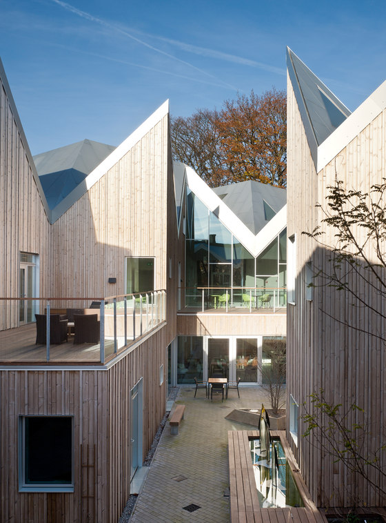 NORD ARCHITECTS COPENHAGEN-Healthcare Center for Cancer Patients
