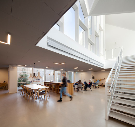 Healthcare Center for Cancer Patients by NORD ARCHITECTS COPENHAGEN | Hospitals