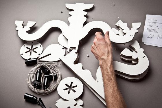 Kyburz Produktdesign-Kartonklunker Decke