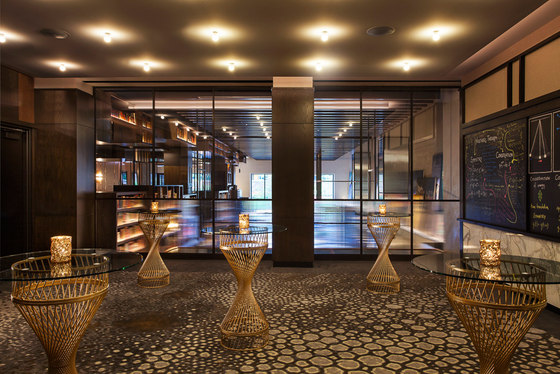 Hotel EMC2 by Rockwell Group | Hotel interiors