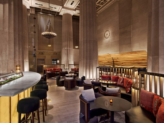 Nobu Downtown By Rockwell Group Restaurant Interiors