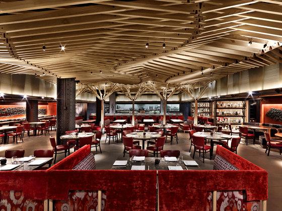 Nobu Downtown von Rockwell Group   Restaurant-Interieurs