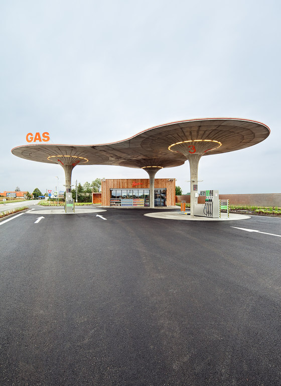Gas Station by atelier SAD | Infrastructure buildings