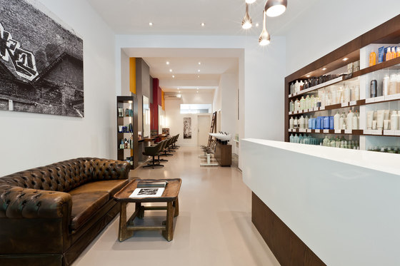Aveda exclusive salon barber shop zurich by kepenek for Interior decoration zurich