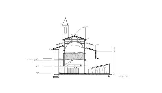 Church of Sant Francesc by David Closes Architect | Church architecture / community centres