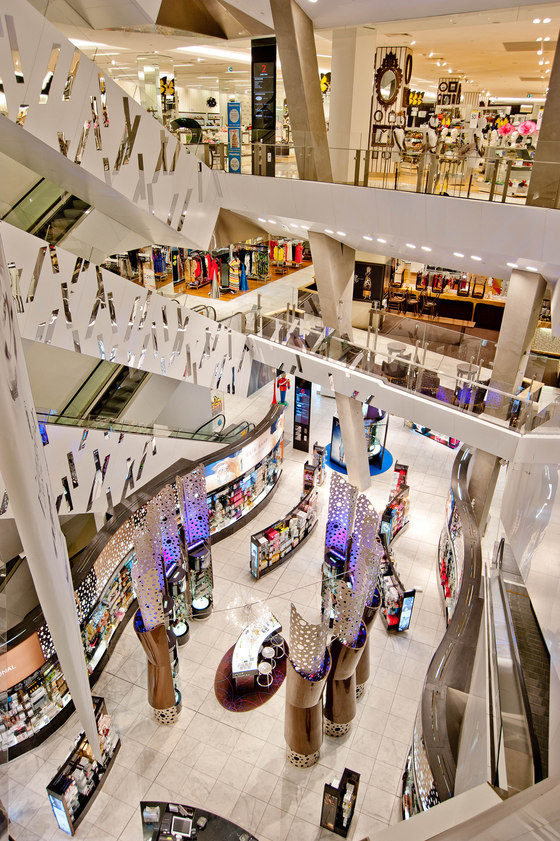 Myer Department Store by Visplay reference projects   Manufacturer references