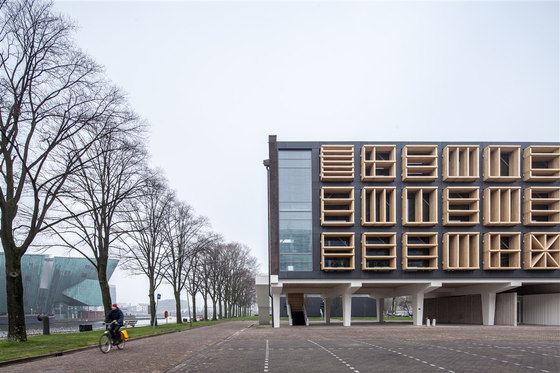 Marine Base Amsterdam Building 27E by bureau SLA | Office buildings