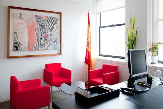 Oficinas de ICEX en el Chrysler Building de SANCAL DISEÑO, S.L. |