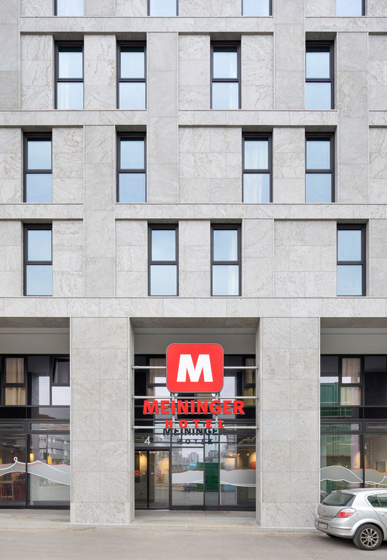 Meininger Hotel am Postbahnhof, Berlin by Tchoban Voss architects | Hotels