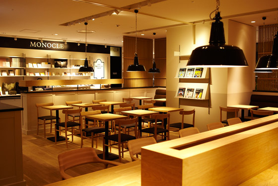 The Monocle Cafe by MARUNI | Manufacturer references