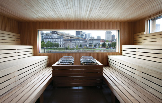 Bota Bota by Sid Lee Architecture | Spa facilities