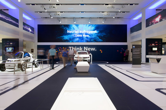 Drive Volkswagen Group Forum By Macom Audiovisual Design Trade Fair Stands