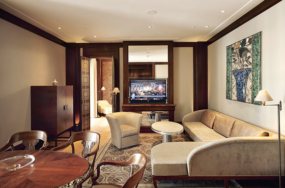 Park Hyatt Vienna by macom   AudioVisual Design   Hotel interiors