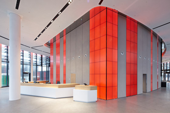 Vodafone Campus Dusseldorf Di Macom Audiovisual Design Edifici Per Uffici