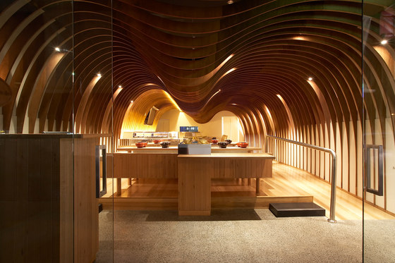 Koichi Takada Architects-Cave Restaurant (Sushi Train)