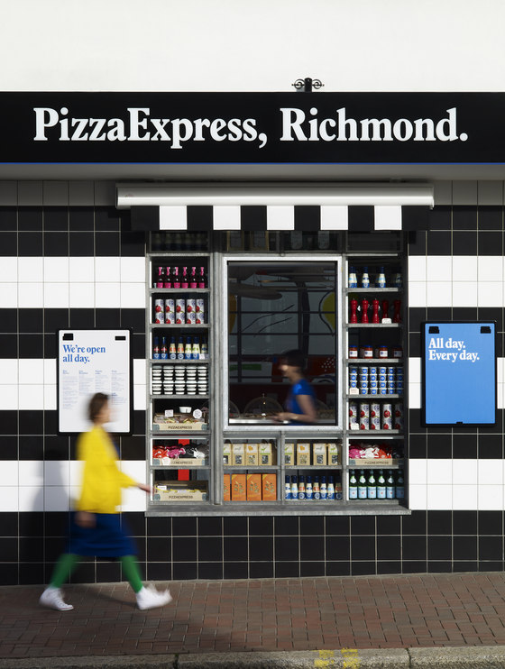 Living Lab for PizzaExpress von Ab Rogers Design | Restaurant-Interieurs