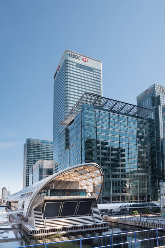 Crossrail Place at Canary Wharf by Arup | Temporary structures